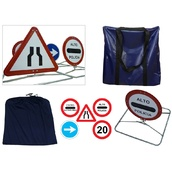 Equipamiento y material de señalizacion policial kit-policia Kit de señalizacion para control policial