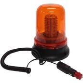 Rotativos luminosos para vehículos JDI 7010 Rotativo led naranja 12v, base magnética o fijación estándar y conexión a mechero