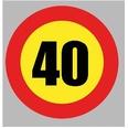 BOL406 Velocidad Máxima 40Km/h