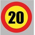 BOL414 Velocidad Máxima 20Km/h