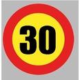 BOL418 Velocidad Máxima 30Km/h