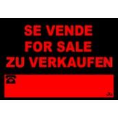 Cartelería comercial 962-3IDI Cartel Comercial: SE VENDE, FOR SALE, ZU VERKAUFEN