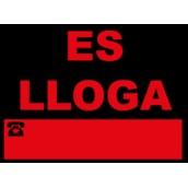 Cartelería comercial 963-CAT Cartel comercial: ES LLOGA