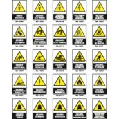 Señales de advertencia de peligro  Señalización de advertencia de peligro