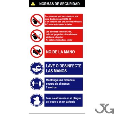 621Cartel Normas de seguridad