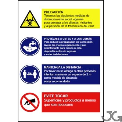 626Cartel Normas de seguridad