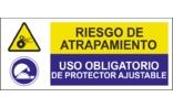 Riesgo de atrapamiento Uso obligatorio de protector ajustable SC29