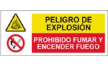 Peligro de explosión Prohibido fumar o encender fuego SC34