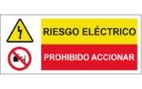 Riesgo eléctrico Prohibido accionar SC41
