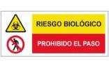 Riesgo eléctrico Prohibido el paso SC48