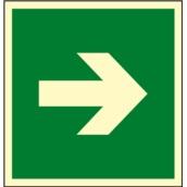Señales de evacuación, salvamento y socorro  Señales rutas e informativas