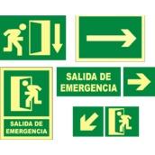 Señales de evacuación, salvamento y socorro