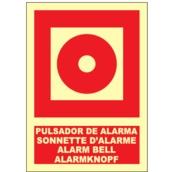 Señales de lucha contra incendios  Señales en 4 idiomas