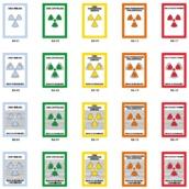 Señalización en zonas con riesgos de radiación ionizante