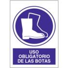 SO801 Uso obligatorio de las botas