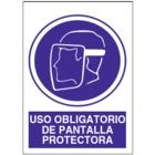 SO805 Uso obligatorio de pantalla protectora