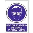 SO806 Uso obligatorio de gafas protectoras