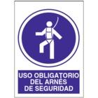 SO807 Uso obligatorio de arnés de seguridad