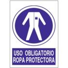 SO808 Uso obligatorio de ropa protectora