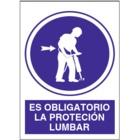 SO810 Es obligatorio la protección lumbar