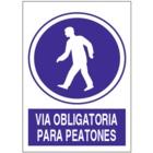 SO811 Vía obligatoria para peatones