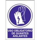SO813 Uso obligatorio de guantes aislantes
