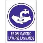 SO815 Es obligatorio lavarse las manos