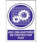 SO818 Uso obligatorio de protector fijo