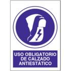 SO830 Uso obligatorio de calzado antiestático
