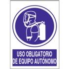 SO832 Uso obligatorio de equipo autónomo