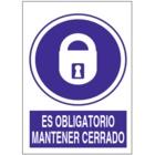 SO840 Es obligatorio mantener cerrado