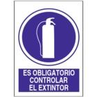 SO841 Es obligatorio controlar el extintor
