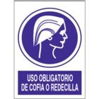SO843 Uso obligatorio de cofia o redecilla