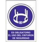 SO845 Es obligatorio el uso de cinturón de seguridad
