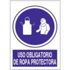 SO846 Uso obligatorio de ropa protectora