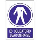 SO848 Es obligatorio usar uniforme