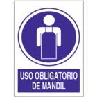 SO849 Uso obligatorio de mandil