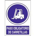 SO853 Paso obligatorio de carretillas