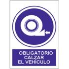 SO855 Obligatorio calzar el vehículo