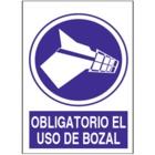SO861 Obligatorio el uso de bozal