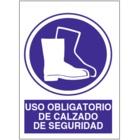SO862 Uso obligatorio de calzado de seguridad