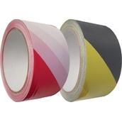 Cintas adhesivas de señalización  Cinta adhesiva de base polipropileno solvente de 5cm x 66m