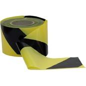 Cintas de señalización o balizamiento 107 Cinta señalización Amarilla-Negra 10cm x 200m. Galga 300