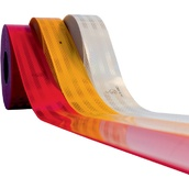 Cintas adhesivas reflectantes para marcaje de vehículos  Cinta adhesiva reflectante 51mmx50m de marcado de vehículos para Superficies Rígidas V-23
