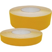 Cintas adhesivas antideslizantes  Cinta adhesiva antideslizante amarilla