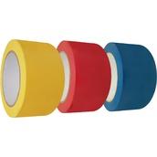 Cintas adhesivas de señalización  Cinta adhesiva en base de caucho 5cm x 33m
