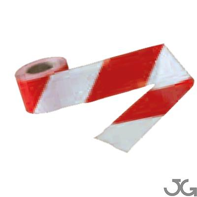 cinta se alizaci n roja blanca 10cm x 200m galga 400