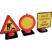 Accesorios para conos  Señal MOPU en PS para cono de 50-75cm