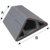 Accesorios para encofrados  Berenjeno PVC para encofrado