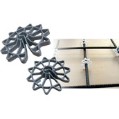 Separadores para encofrados  Separador timón (rueda)
